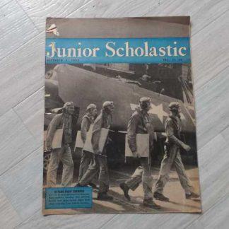 Magazine JUNIOR SCHOLASTIC du 4 décembre 1944