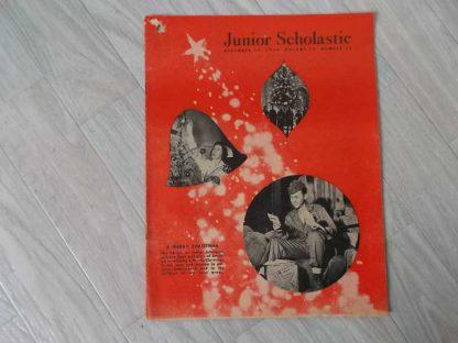 Magazine JUNIOR SCHOLASTIC du 11 décembre 1944