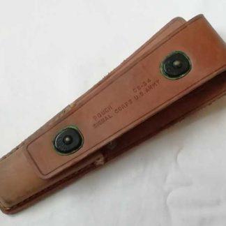 Trousse cuir CS34 du signal corps