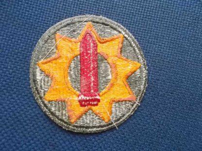 Insigne original 9th PACIFIC COASTAL DISTRICT