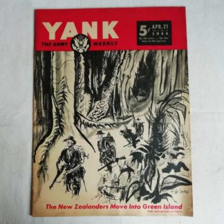 Magazine YANK du 21 avril 1944 (anzac)