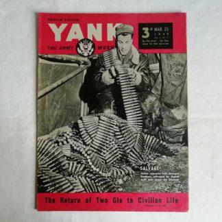 Magazine YANK du 25 mars 1945 (armurier)