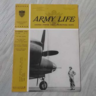 Magazine ARMY LIFE de november 1943