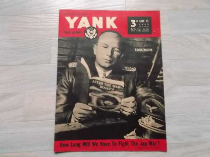 Magazine YANK du 15 juin 1945 (officier luftwaffe)