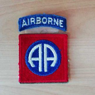 Insigne original 82° AIRBORNE DIVISION (tab détaché)