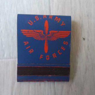 Pochette d'allumettes US AIR FORCE