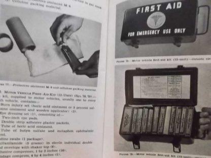 FM 21-11 daté de 1943 (1st aid for soldiers)