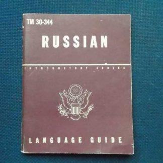 TM 30-344 daté 1944 (russian language guide)