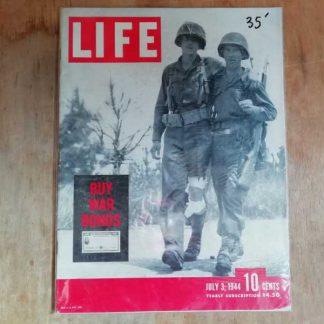 Magazine LIFE du 3 juillet 1944 (normandie)