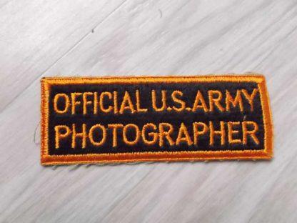 Insigne original PHOTOGRAPHER