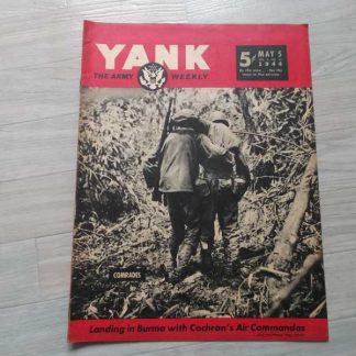 Magazine YANK du 05 mai 1944 (blessé usmc )