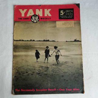 Magazine YANK du 6 juillet 1945 (utah beach)