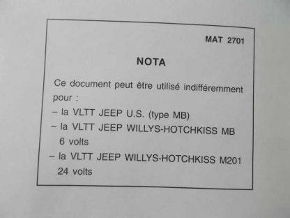 Guide technique de JEEP 6 et 24 volts en français
