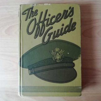 Manuel Officer's guide daté 1943