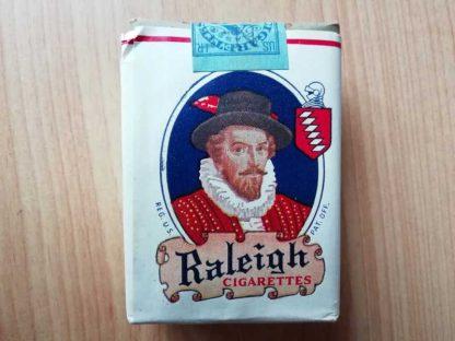 Paquet de 20 cigarettes RALEIGH marché civil de 1945