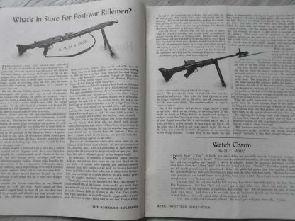 Magazine THE AMERICAN RIFLEMAN d'avril 1944