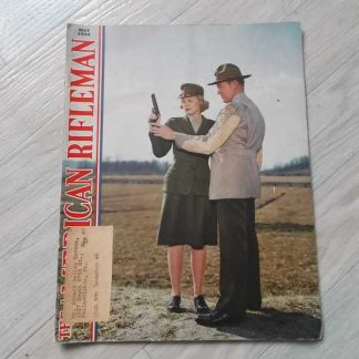 Magazine THE AMERICAN RIFLEMAN de mai 1944