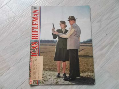 Magazine THE AMERICAN RIFLEMAN de mai 1944