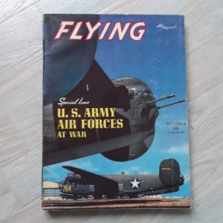 Magazine FLYING d'octobre 1943