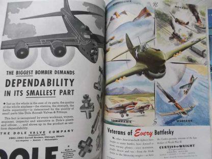 Magazine FLYING d'octobre 1943