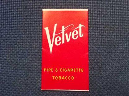 Paquet de feuilles à cigarette VELVET