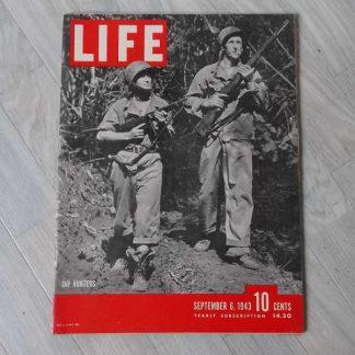 Magazine LIFE du 6 septembre 1943 (marines)