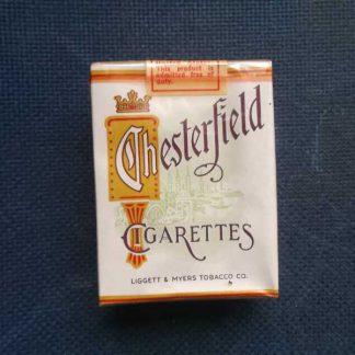 """Paquet de 20 cigarettes CHESTERFIELD de l""""US ARMY"""