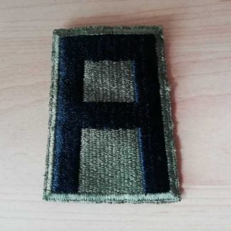 Insigne original 1st ARMY (green back)