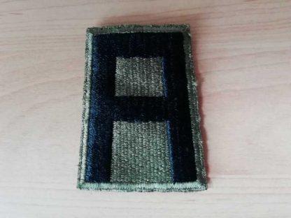 Insigne original 1st ARMY (green back)