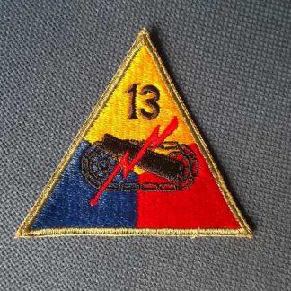 Insigne original 13° ARMORED DIVISION