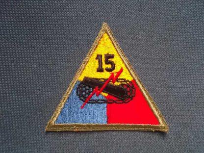 Insigne original 15° ARMORED DIVISION (not active)