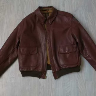 Blouson A2 en cuir taille 38 (Mc COLGAN)