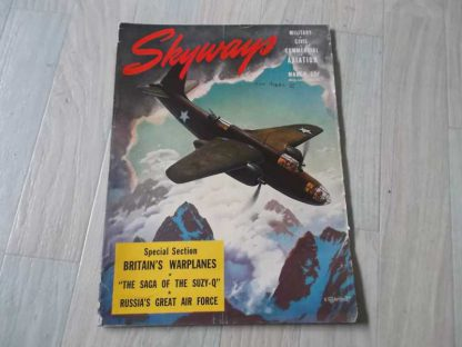Magazine SKYWAYS de mars 1943 (bomber)