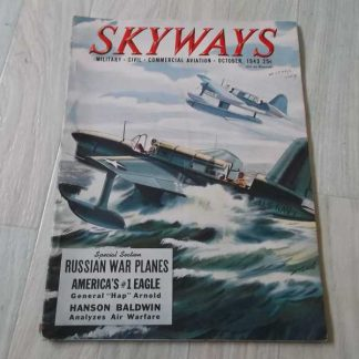 Magazine SKYWAYS de octobre 1943 (hydravion)