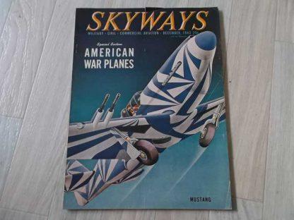 Magazine SKYWAYS de décembre 1943 (mustang)