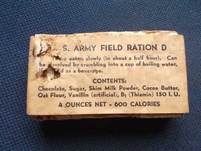 Ration D originale du 1er type