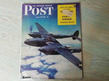 Magazine SATURDAY EVENING POST du 29 aout 1942
