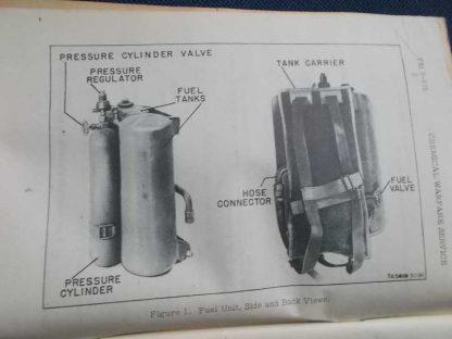 TM 3-375 daté de 1943 (lance flamme)