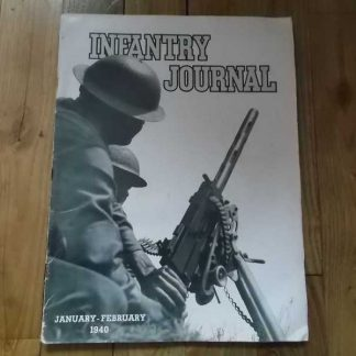 Magazine INFANTRY JOURNAL de janvier 1940