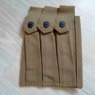 Porte chargeurs thompson daté 1944 (30 coups)