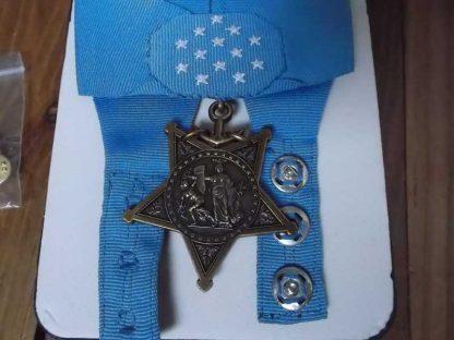 Médaille du Congrès USMC - US NAVY en boite (reproduction)