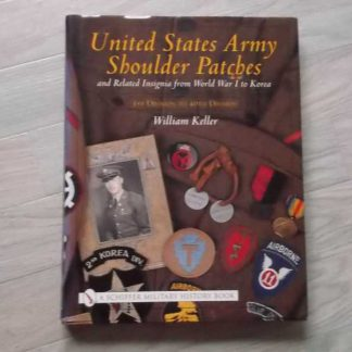 USA shoulder patches tome 1