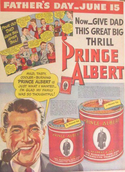 Boite à tabac de PX de marque PRINCE ALBERT