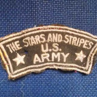 Insigne original THE STARS AND STRIPES