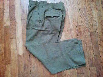 Pantalon M37 daté 1944 taille 33US