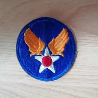 Insigne original ARMY AIR FORCE (green back)