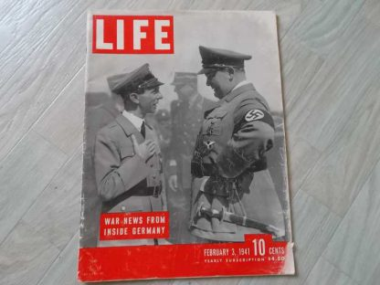 Magazine LIFE du 3 féfrier 1941 (goebels-goering)