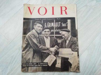 Journal VOIR édité par les forces US (n°8)
