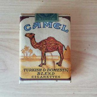 Paquet de 20 cigarettes CAMEL marché civil de 1945