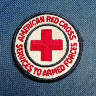 Insigne original de l'AMERICAN RED CROSS brodé